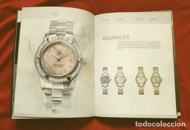 Relojes - Tag Heuer: Gran CATALOGO Relojes TAG HEUER - 111 páginas con lista de precios 2005 - Tagheuer publicitario 2001 - Foto 2 - 192649397