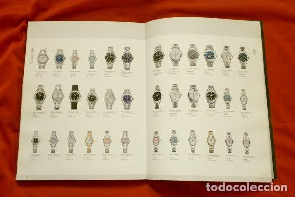 Relojes - Tag Heuer: Gran CATALOGO Relojes TAG HEUER - 111 páginas con lista de precios 2005 - Tagheuer publicitario 2001 - Foto 5 - 192649397