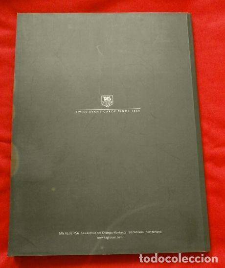 Relojes - Tag Heuer: Gran CATALOGO Relojes TAG HEUER - 111 páginas con lista de precios 2005 - Tagheuer publicitario 2001 - Foto 6 - 192649397