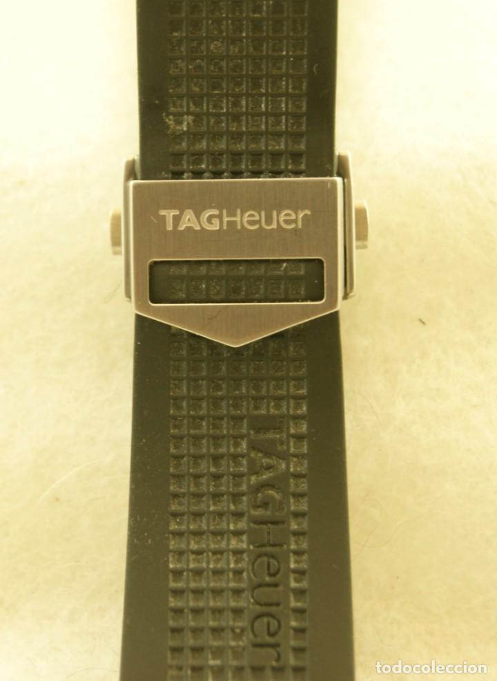 Relojes - Tag Heuer: TAG HEUER AQUARACER CORREA CAUCHO CON CIERRE DEPLOYANTE 500M - Foto 2 - 197338015