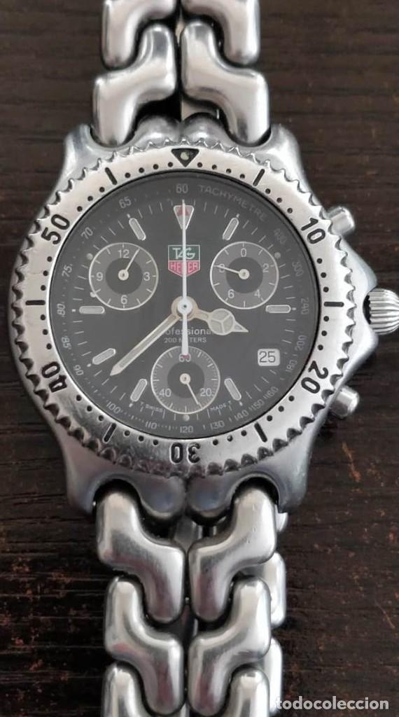RELOJ DE HOMBRE CON PULSERA DE ACERO TAG HEUER CG1110-1 (Relojes - Relojes Actuales - Tag Heuer )