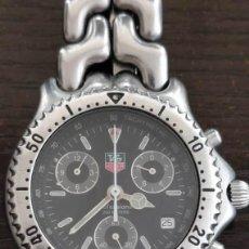 Relojes - Tag Heuer: RELOJ DE HOMBRE CON PULSERA DE ACERO TAG HEUER CG1110-1. Lote 204458082