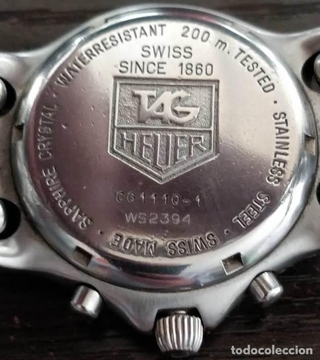Relojes - Tag Heuer: Reloj de hombre con pulsera de acero TAG HEUER CG1110-1 - Foto 2 - 204458082