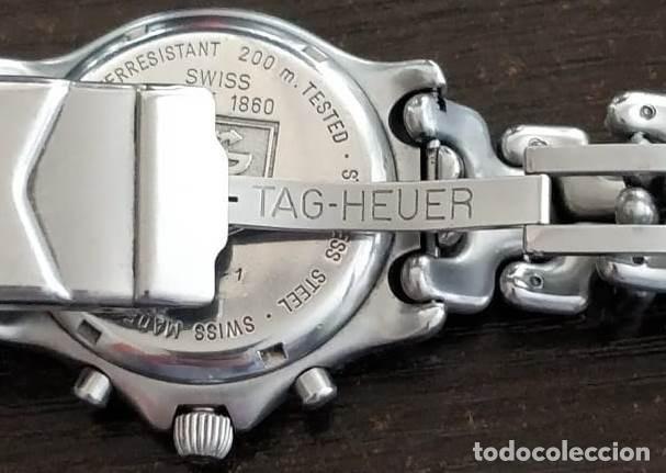 Relojes - Tag Heuer: Reloj de hombre con pulsera de acero TAG HEUER CG1110-1 - Foto 3 - 204458082