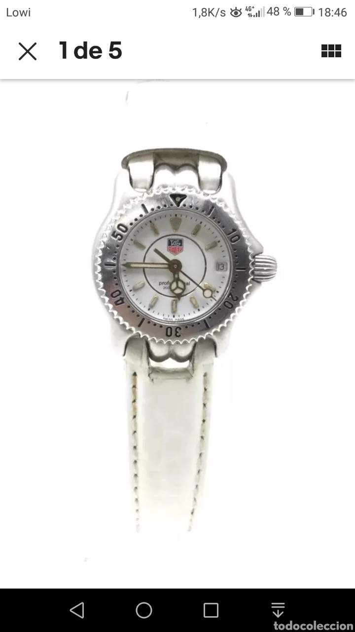 RELOJ TAG HEUER MUJER (Relojes - Relojes Actuales - Tag Heuer )