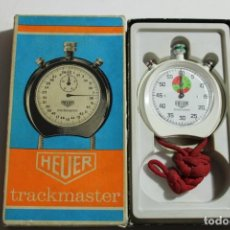 Relojes - Tag Heuer: CRONOMETRO VINTAGE HEUER TRACKMASTER. Lote 205744835