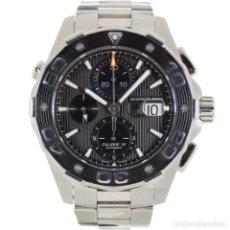 Relojes - Tag Heuer: TAG HEUER AQUARACER CRONÓGRAFO CAJ2110 / RAA6527. Lote 177187780