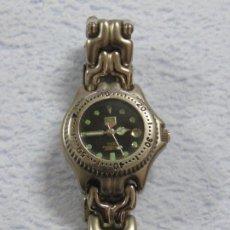 Relojes - Tag Heuer: RELOJ DE PULSERA TAG HEUER MODELO 1500 PROFESIONAL 200 MTS, NUMERADO : 52472, PARA SEÑORA. Lote 207184451