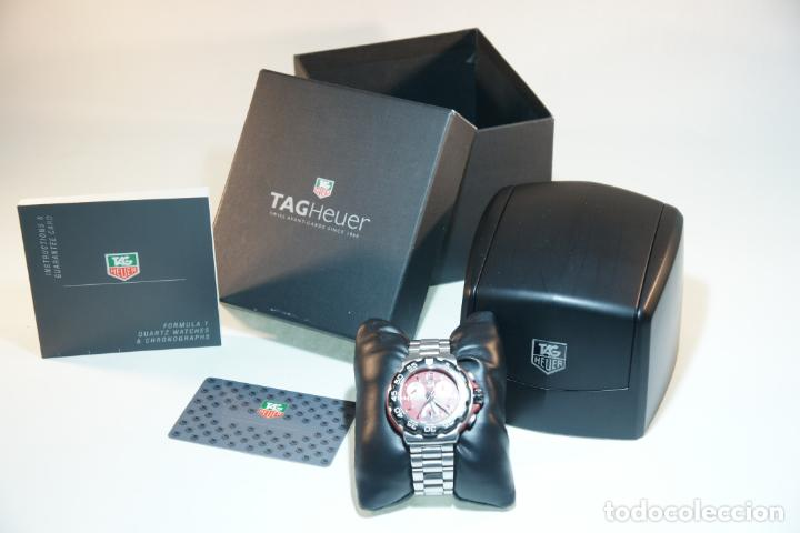 Relojes - Tag Heuer: Reloj Tag Heuer Formula 1. Rojo Ferrari. Edición limitada.Incluye estuche, caja, instrucciones, etc. - Foto 2 - 209860565