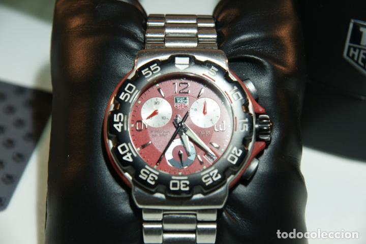 Relojes - Tag Heuer: Reloj Tag Heuer Formula 1. Rojo Ferrari. Edición limitada.Incluye estuche, caja, instrucciones, etc. - Foto 3 - 209860565