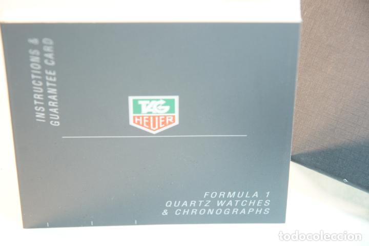 Relojes - Tag Heuer: Reloj Tag Heuer Formula 1. Rojo Ferrari. Edición limitada.Incluye estuche, caja, instrucciones, etc. - Foto 4 - 209860565