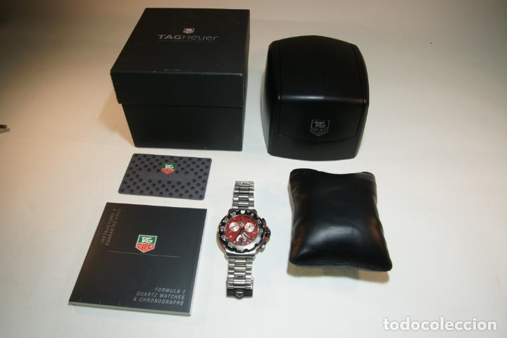Relojes - Tag Heuer: Reloj Tag Heuer Formula 1. Rojo Ferrari. Edición limitada.Incluye estuche, caja, instrucciones, etc. - Foto 5 - 209860565