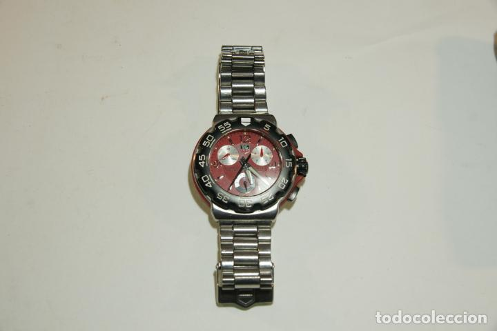 Relojes - Tag Heuer: Reloj Tag Heuer Formula 1. Rojo Ferrari. Edición limitada.Incluye estuche, caja, instrucciones, etc. - Foto 6 - 209860565