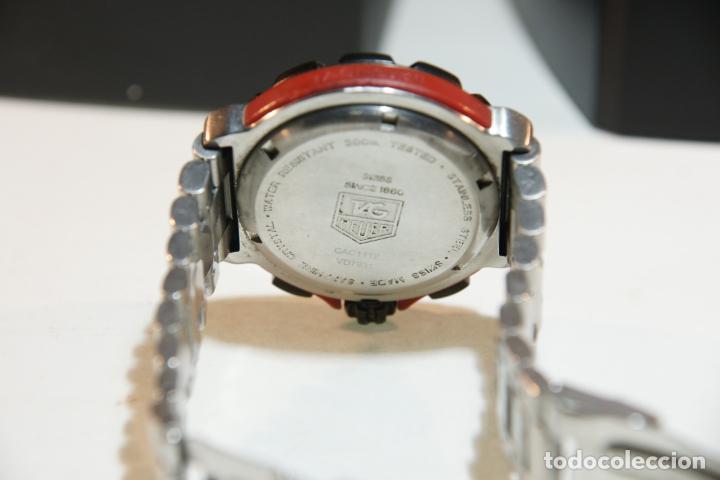 Relojes - Tag Heuer: Reloj Tag Heuer Formula 1. Rojo Ferrari. Edición limitada.Incluye estuche, caja, instrucciones, etc. - Foto 8 - 209860565