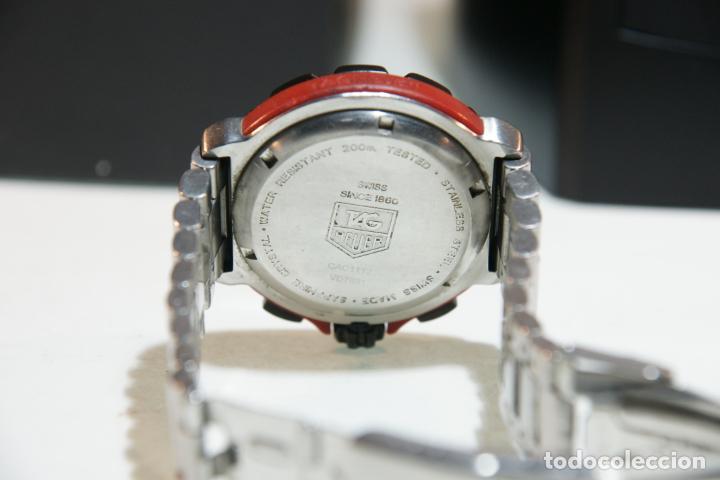 Relojes - Tag Heuer: Reloj Tag Heuer Formula 1. Rojo Ferrari. Edición limitada.Incluye estuche, caja, instrucciones, etc. - Foto 9 - 209860565