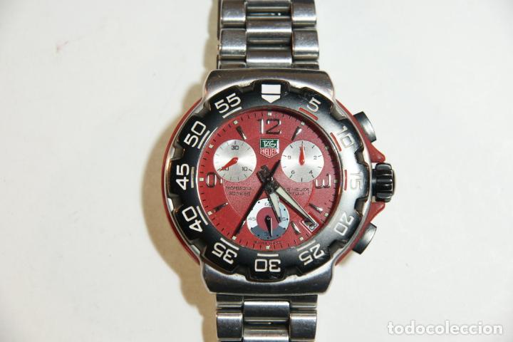 Relojes - Tag Heuer: Reloj Tag Heuer Formula 1. Rojo Ferrari. Edición limitada.Incluye estuche, caja, instrucciones, etc. - Foto 13 - 209860565