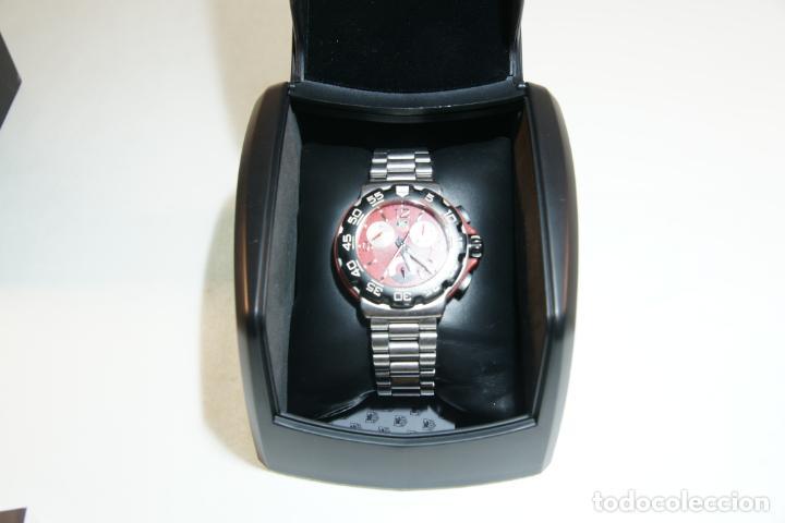 Relojes - Tag Heuer: Reloj Tag Heuer Formula 1. Rojo Ferrari. Edición limitada.Incluye estuche, caja, instrucciones, etc. - Foto 18 - 209860565