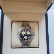 Relojes - Tag Heuer: TAG HEUER AQUARACER 300M ACERO CAF1110 TODO ORIGINAL CON CAJA 41MM ORIGINAL 100%. Lote 217080285