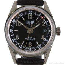 Relojes - Tag Heuer: TAG HEUER GMT CARRERA 1964 RE-EDICIÓN REF. WS2113. Lote 217101567
