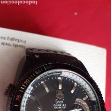 Relojes - Tag Heuer: RELOJ TAG HEUER CARRERA AUTOMATIC FUNCIONA BIEN.MIDE 43 MM DIAMETRO.VER FOTOS. Lote 218222471