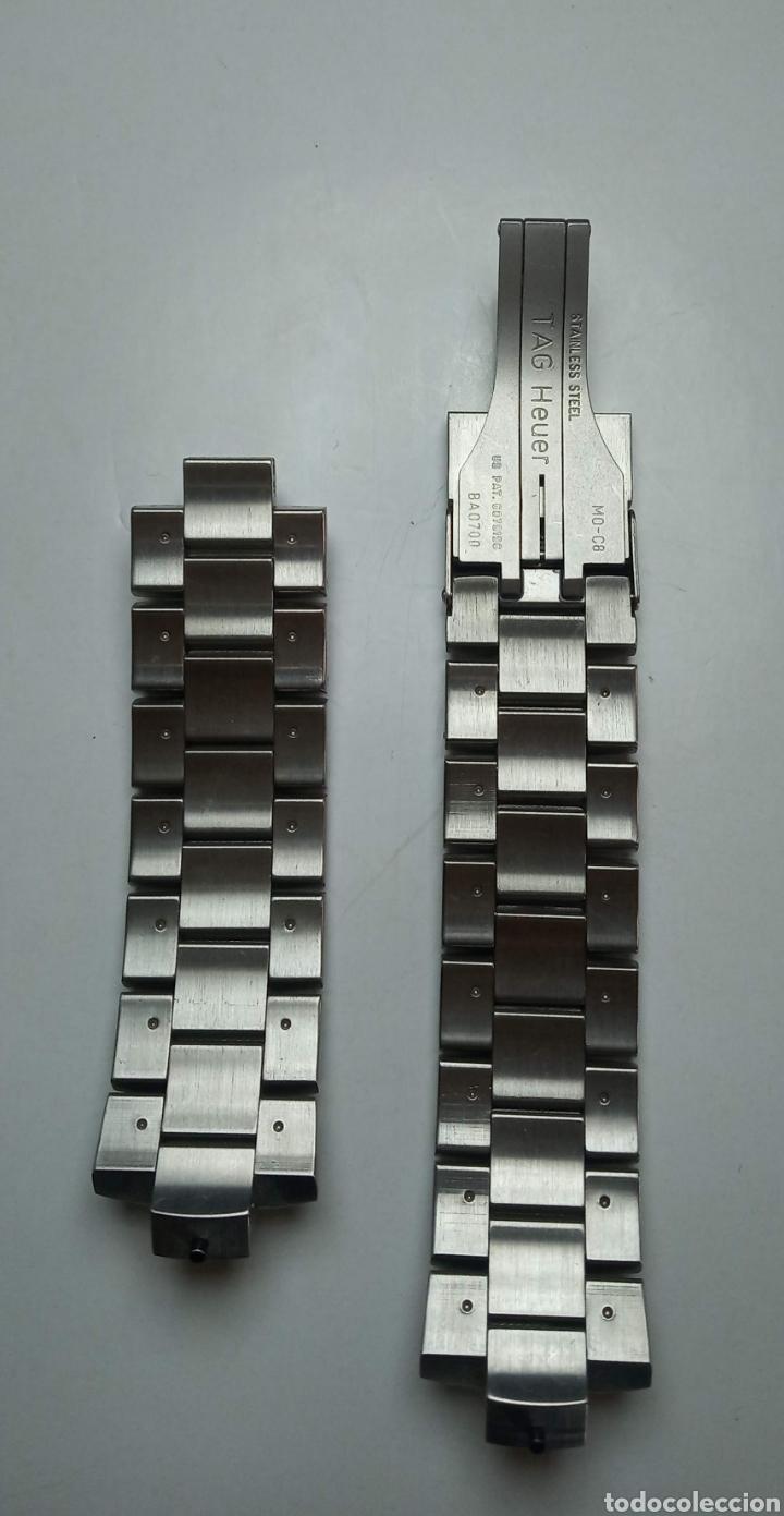 Relojes - Tag Heuer: BRAZALETE PARA RELOJ TAG HEVER KIRIUM NUEVO - Foto 2 - 218477346