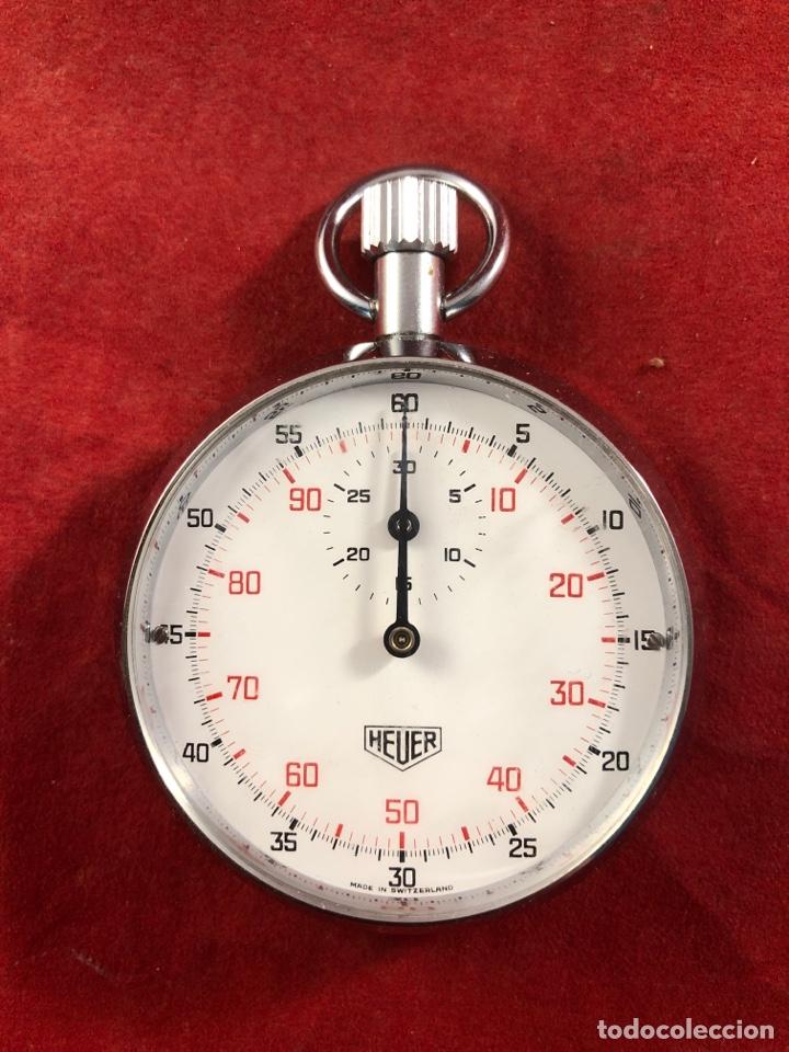 CRONOMETRÓ HEUER FUNCIONA PERFECTAMENTE (Relojes - Relojes Actuales - Tag Heuer )