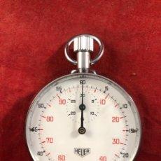 Relojes - Tag Heuer: CRONOMETRÓ HEUER FUNCIONA PERFECTAMENTE. Lote 236334205
