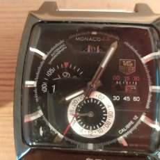 Relojes - Tag Heuer: RELOJ HOMBRE TAGHEUER MONACO A LA VENTA COMO REPLICA. Lote 237076640