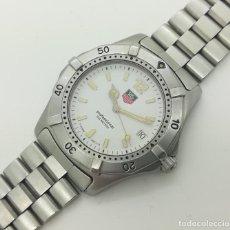 Relojes - Tag Heuer: RELOJ TAG HEUER SERIES 2000 200M - BLANCO POLAR - 38MM - WK1111 DE CUARZO. Lote 246635060