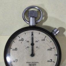 Relojes - Tag Heuer: CRONÓMETRO TAG HEUER DECIMAL. Lote 267706474