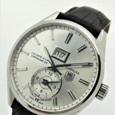 Relojes - Tag Heuer: RELOJ AUTOMÁTICO TAG HEUER CARRERA CALIBRE 8 GMT CHRONOMETER WAR5011 CON CAJA Y PAPELES. Lote 269606408