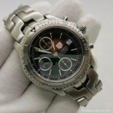 Relojes - Tag Heuer: MEN'S TAG HEUER AUTOMATIC LINK CT2111 - 42MM 200M CHRONO SWISS WATCH ETA 7750. Lote 272282318