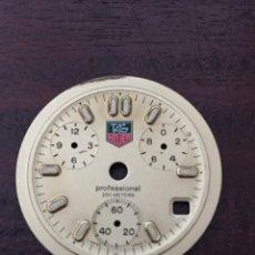 Relojes - Tag Heuer: ESFERA RELOJ CRONOGRAFO TAG HEUER ORIGINAL. Lote 275611168
