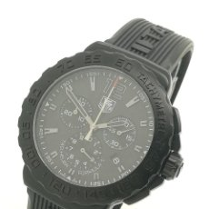 Relojes - Tag Heuer: RELOJ DE CUARZO TAG HEUER FORMULA 1 CRONÓGRAFO CAU1114 42MM NEGRO DE SEGUNDA MANO. Lote 295483693