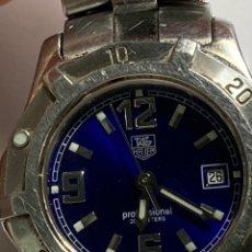Relojes - Tag Heuer: RELÓJ TAG HEUER 2000 PROFESSIONAL WK1312 BLUE DIAL QUARTZ 200 METERS. Lote 297072168