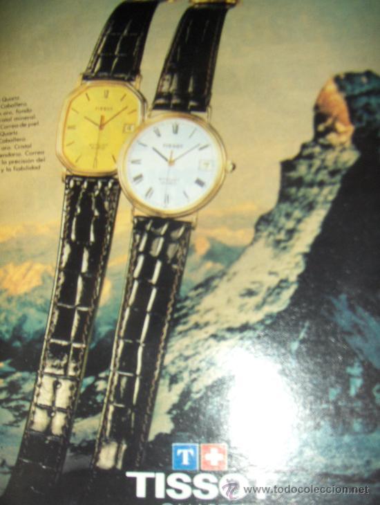 Relojes - Tissot: LOTE DE PUBLICIDAD DE RELOJES TISSOT. - Foto 2 - 25754018