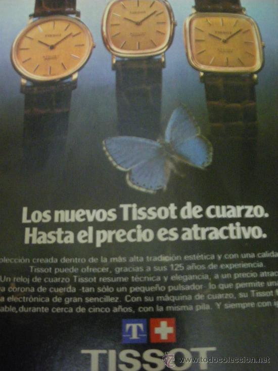 Relojes - Tissot: LOTE DE PUBLICIDAD DE RELOJES TISSOT. - Foto 4 - 25754018
