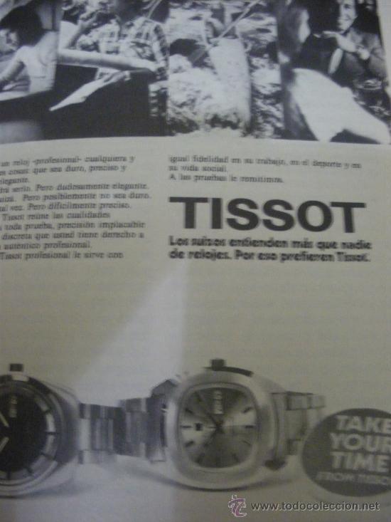 Relojes - Tissot: LOTE DE PUBLICIDAD DE RELOJES TISSOT. - Foto 6 - 25754018
