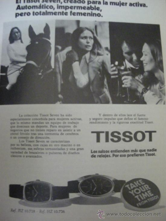 Relojes - Tissot: LOTE DE PUBLICIDAD DE RELOJES TISSOT. - Foto 7 - 25754018