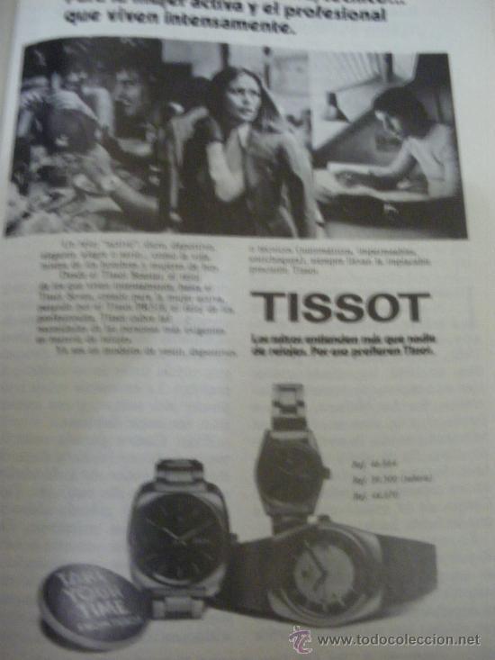 Relojes - Tissot: LOTE DE PUBLICIDAD DE RELOJES TISSOT. - Foto 8 - 25754018