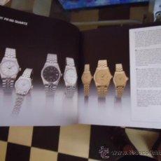 Relojes - Tissot: MAGNIFICO CATALOGO RELOJES TISSOT - . Lote 38420543