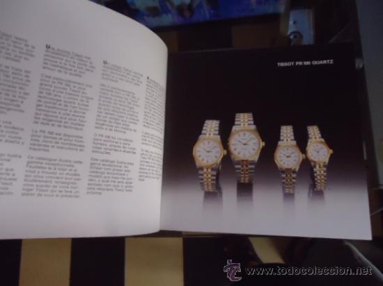 Relojes - Tissot: magnifico catalogo relojes tissot - - Foto 8 - 38420543