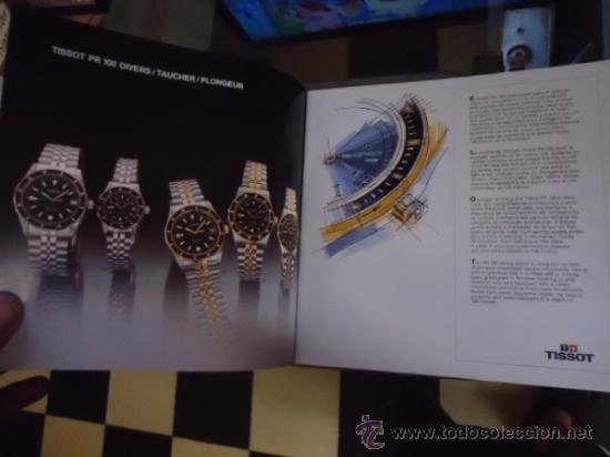 Relojes - Tissot: magnifico catalogo relojes tissot - - Foto 7 - 38420543