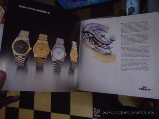 Relojes - Tissot: magnifico catalogo relojes tissot - - Foto 6 - 38420543