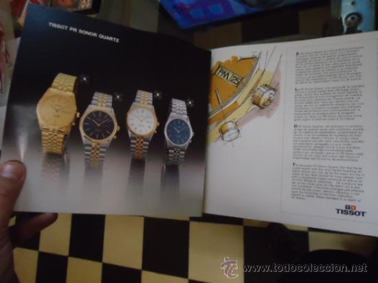 Relojes - Tissot: magnifico catalogo relojes tissot - - Foto 5 - 38420543