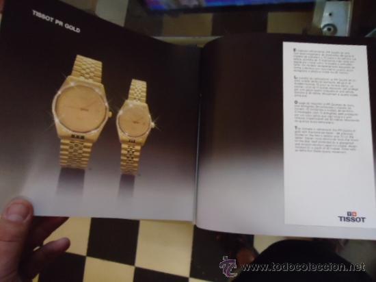 Relojes - Tissot: magnifico catalogo relojes tissot - - Foto 3 - 38420543