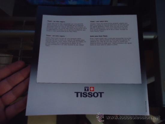 Relojes - Tissot: magnifico catalogo relojes tissot - - Foto 2 - 38420543