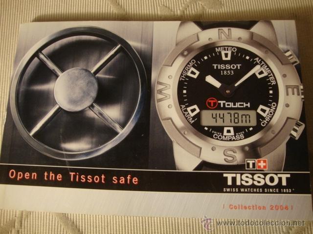 Relojes - Tissot: CATALOGO TISSOT COLECCION AÑO 2004, ORIGINAL, COMPLETO. - Foto 2 - 40153130