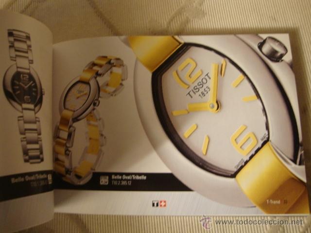 Relojes - Tissot: CATALOGO TISSOT COLECCION AÑO 2004, ORIGINAL, COMPLETO. - Foto 3 - 40153130