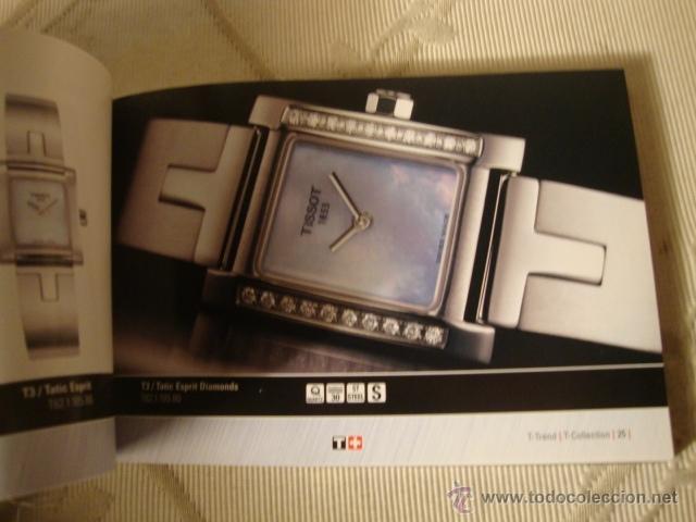 Relojes - Tissot: CATALOGO TISSOT COLECCION AÑO 2004, ORIGINAL, COMPLETO. - Foto 4 - 40153130